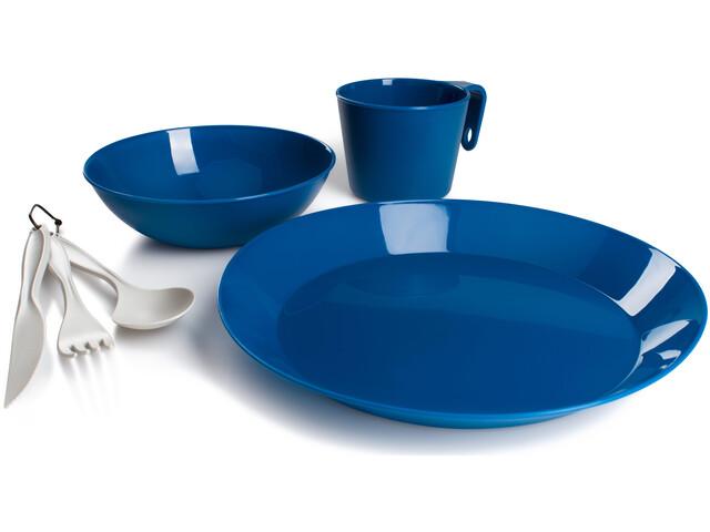 GSI Cascadian 1 Person Geschirr Set blau